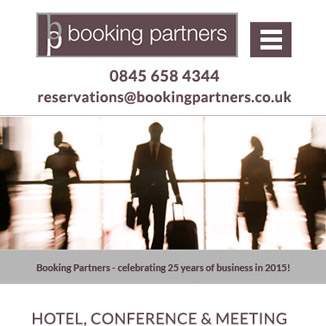 Booking Partners Website
