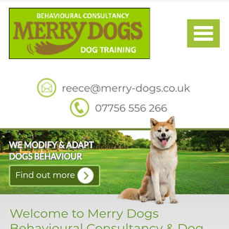 Merry Dogs Website