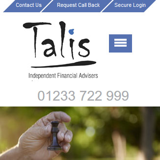 Talis Independent Financial Advisers Website
