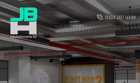 Website for Refurbishments Company